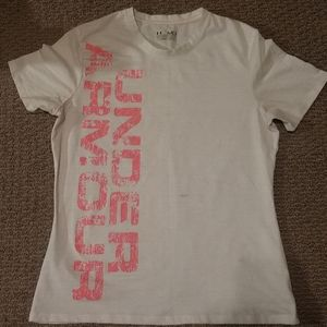 White under armour athletic top
